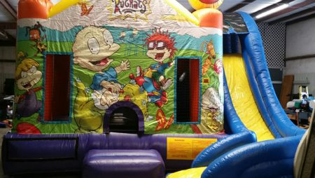 15×15 Rugrats Bounce House Slide $250